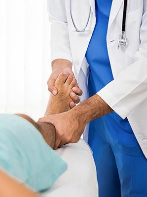 Диагностика при боли в пятках